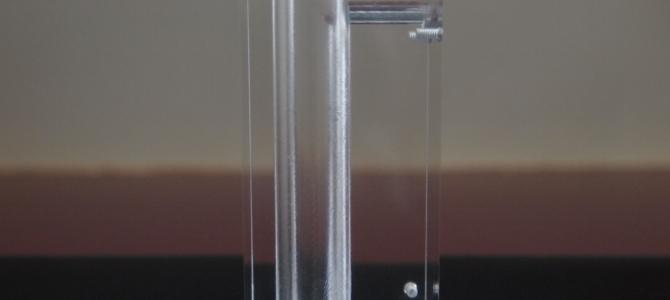 マシニングのドリルの回転速度や送りの速さを変えることで製品の精度が変わる。